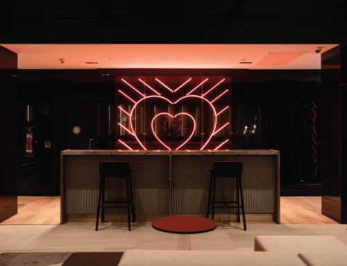 Hotel W Neon Heart